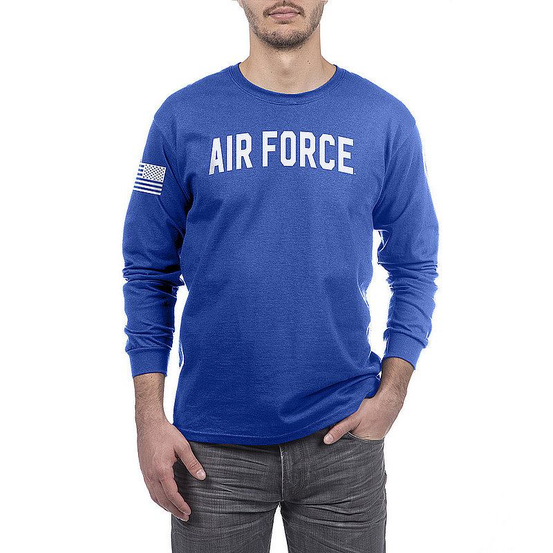 US Air Force Armed Forces Military Long Sleeve Tshirt