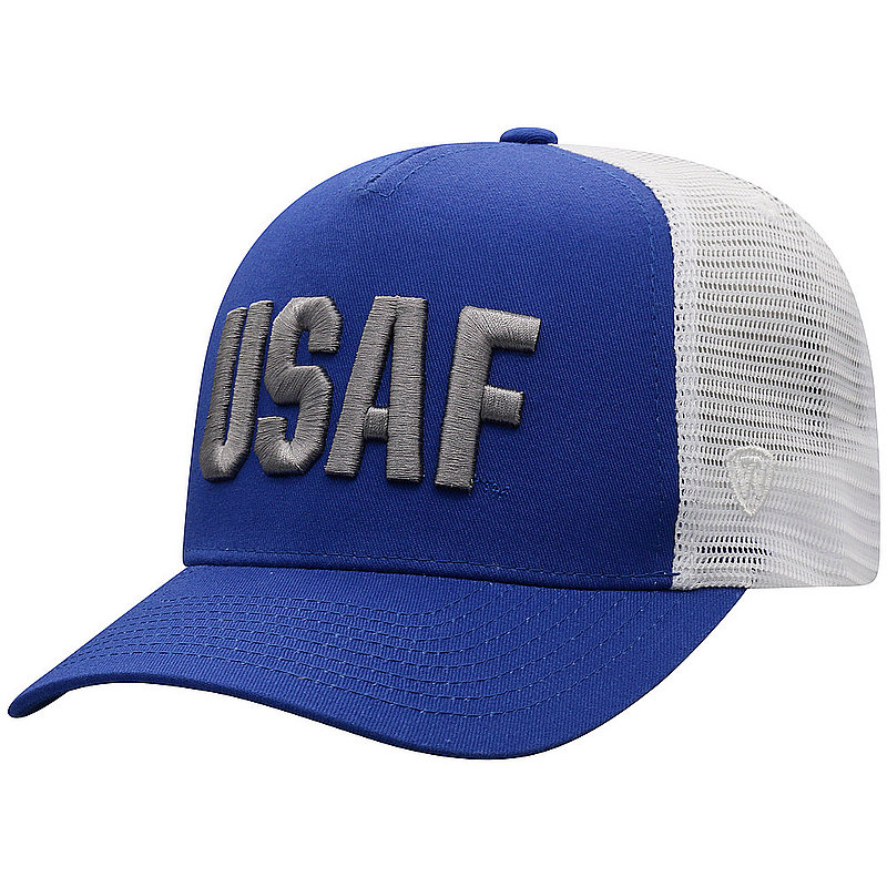 US Air Force Armed Forces Military Snap Back Hat Block KILO-USAF-ADJ-2TN