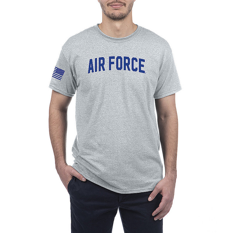 US Air Force Armed Forces Military Tshirt Gray