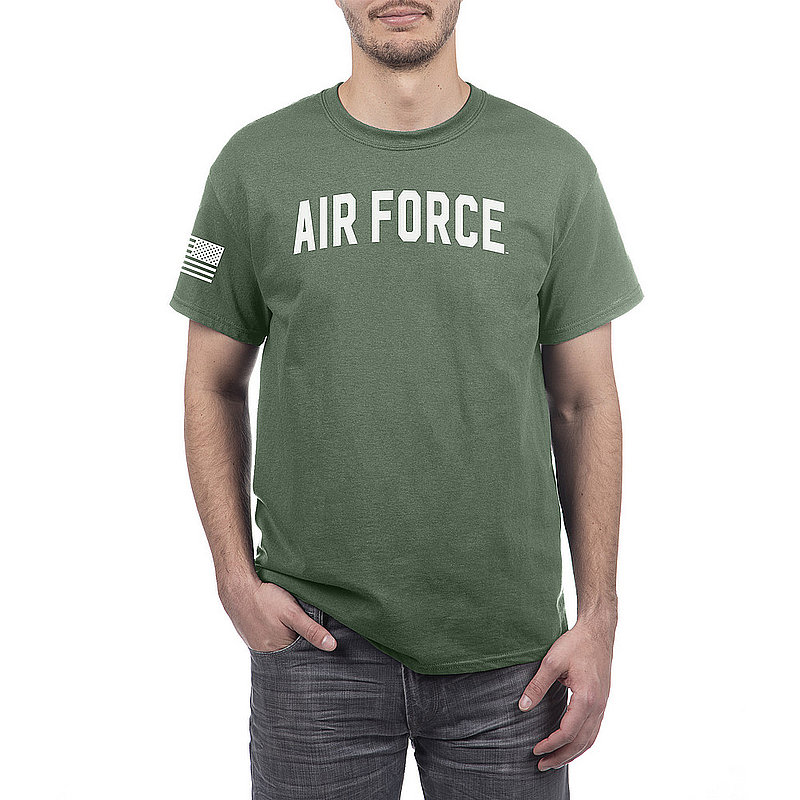 US Air Force Armed Forces Military Tshirt Military Green