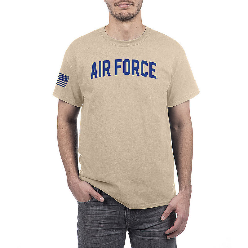 US Air Force Armed Forces Military Tshirt Sand