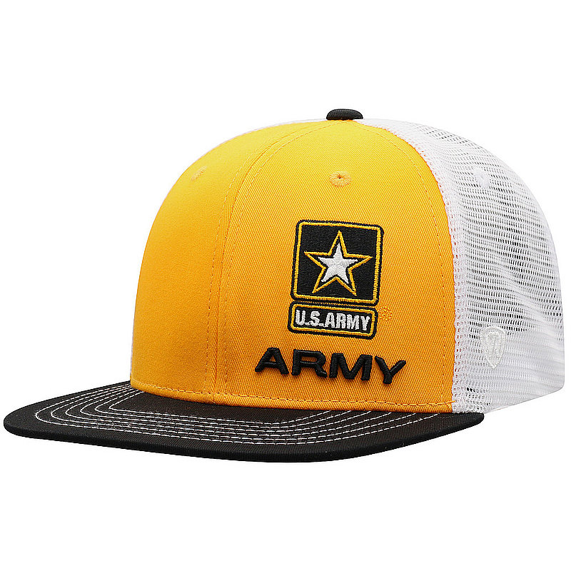 US Army Armed Forces Military Flat Bill Hat FXTR-USARM-ADJ-3TN