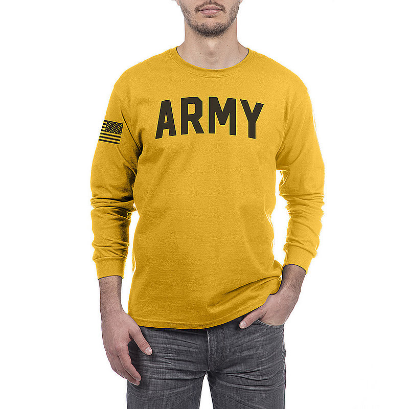 US Army Armed Forces Military Long Sleeve Tshirt