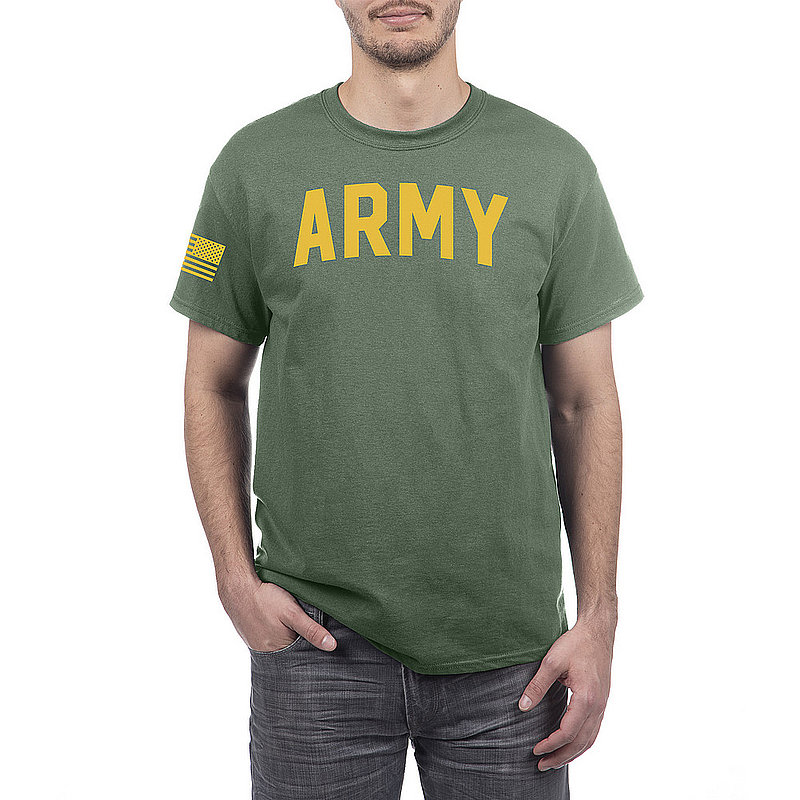 US Army Armed Forces Military Tshirt Military Green