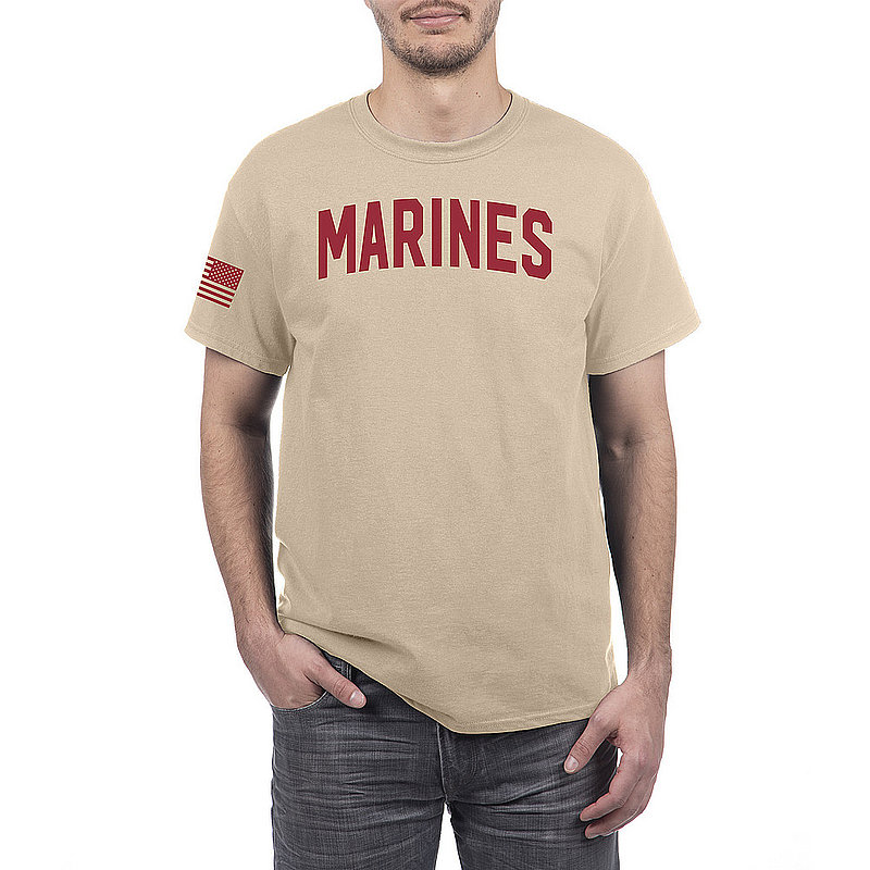 US Marine Corps Armed Forces Military Tshirt Sand