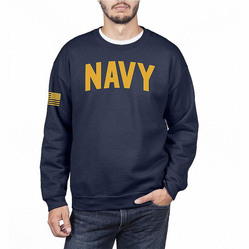 US Navy Armed Forces Military Crewneck Sweatshirt