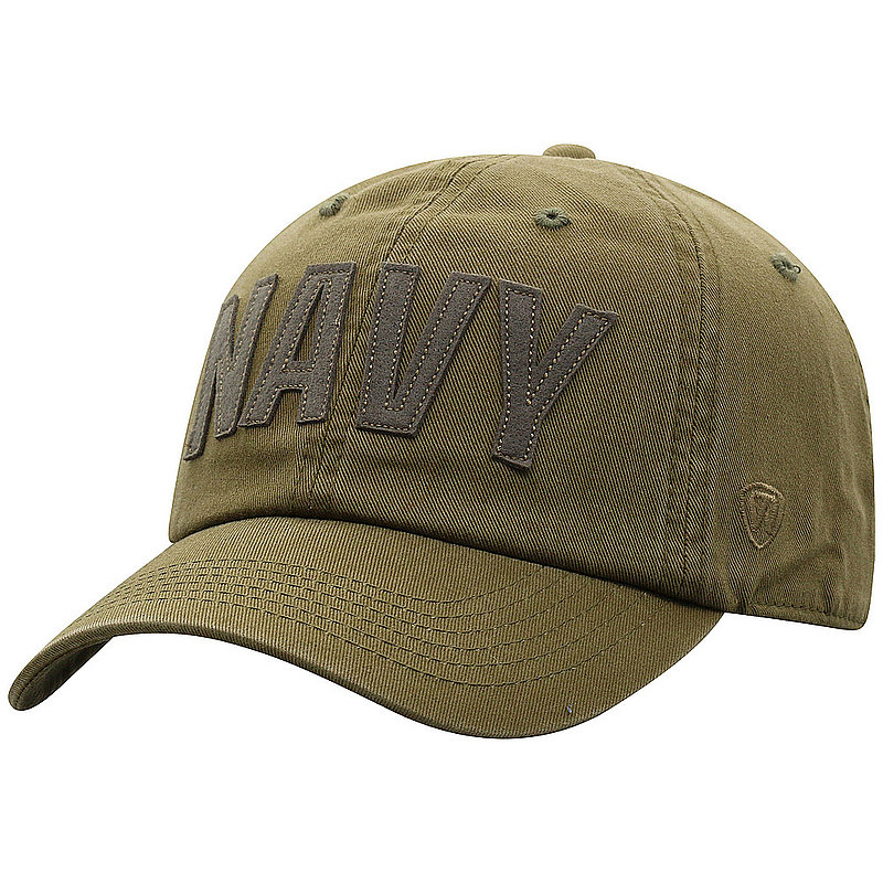 US Navy Armed Forces Military Hat Military Green DSTC1-USNV-ADJ-OLV