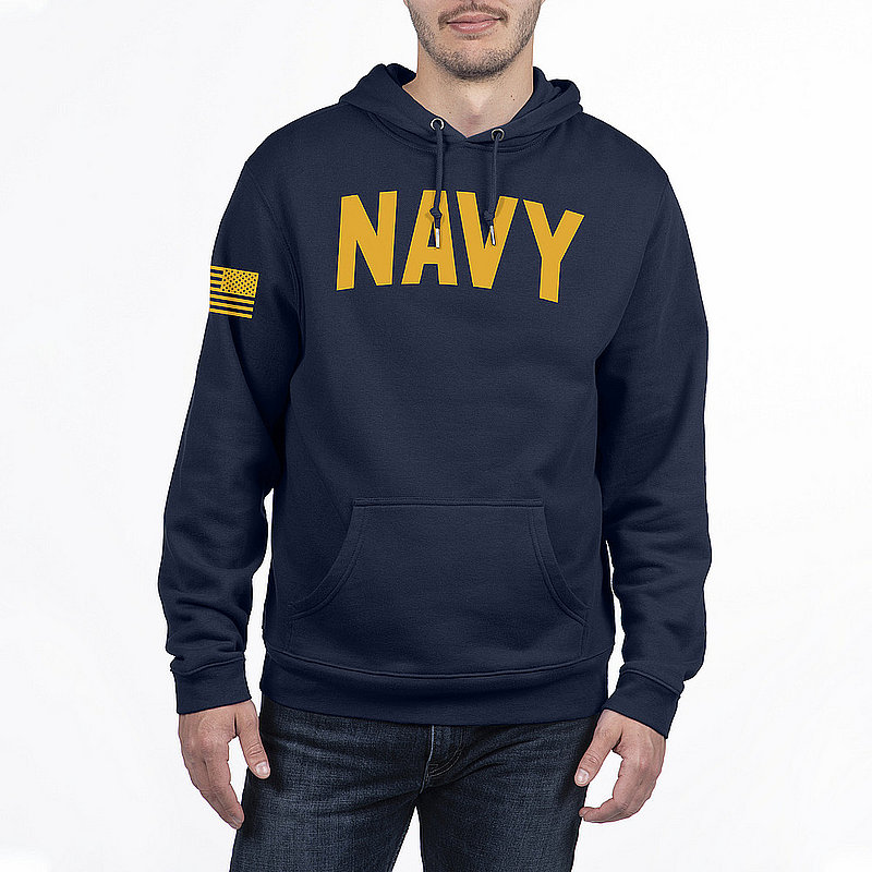 US Navy Armed Forces Military Hooded Sweatshirt