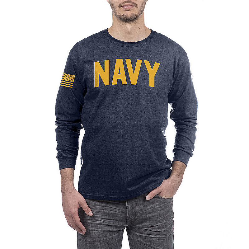 US Navy Armed Forces Military Long Sleeve Tshirt