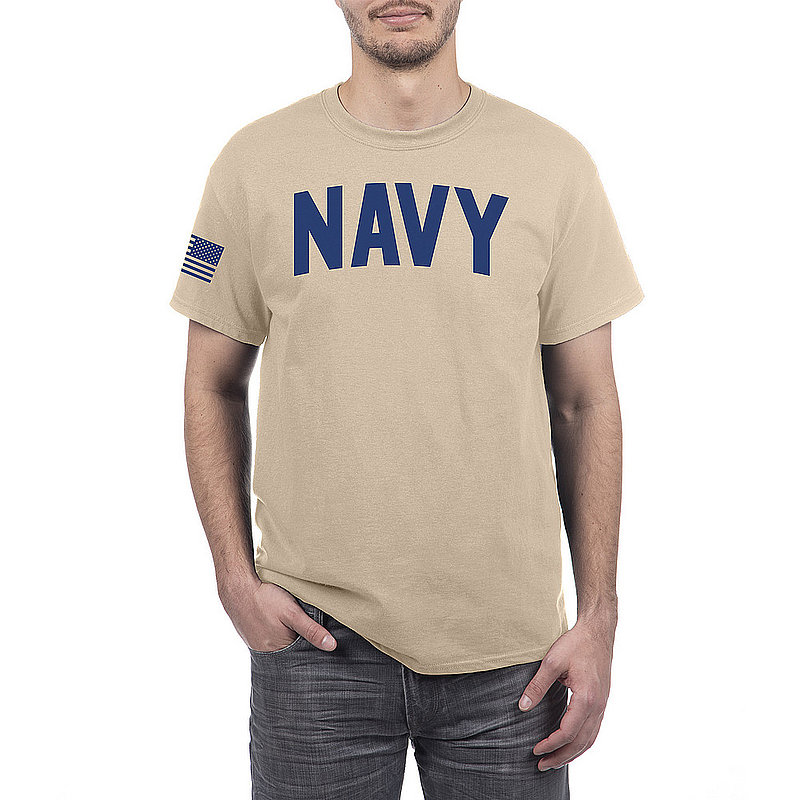 US Navy Armed Forces Military Tshirt Sand