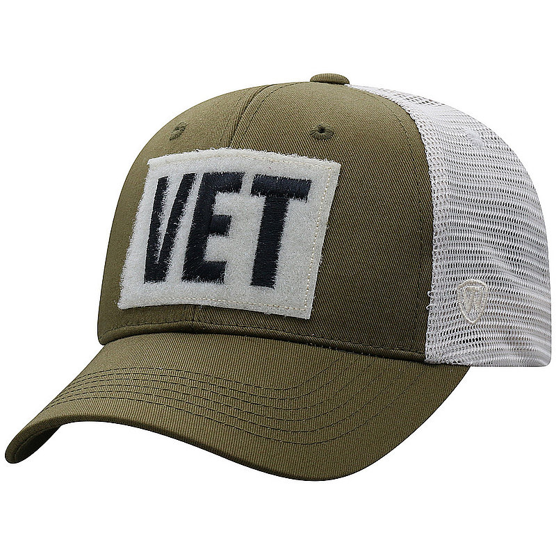 US Navy Armed Forces Military Vet Snap Back Hat Military Green LIMA-USNV-ADJ-2TN