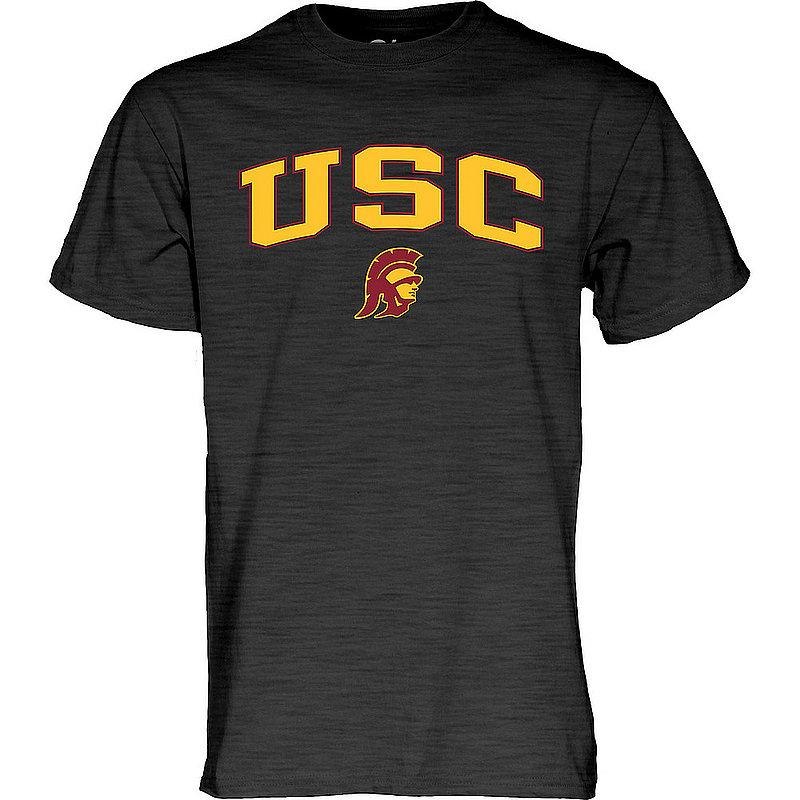 USC Trojans TShirt Varsity Charcoal Arch Over BCRC4