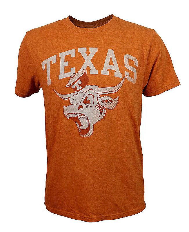 UT Longhorns Texas Triblend Tshirt Orange
