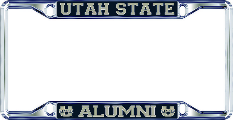 Utah State Aggies License Plate Frame Alumni 46346