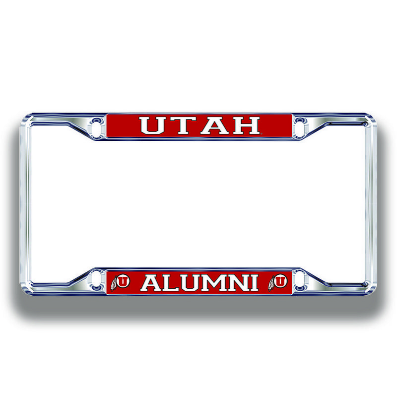 Utah Utes License Plate Frame Alumni 46175