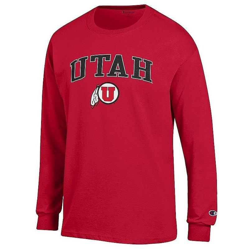 Utah Utes Long Sleeve Tshirt Varsity Red APC02967225*