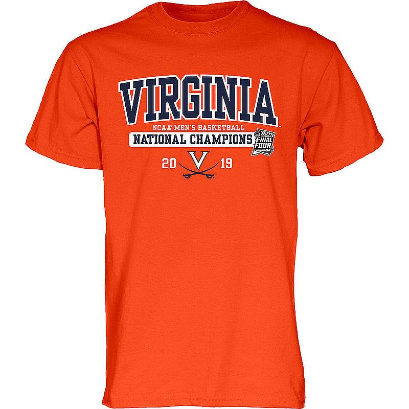 UVA Virginia Cavaliers National Basketball Champions Tshirt 2019 Bar Orange Big Talk