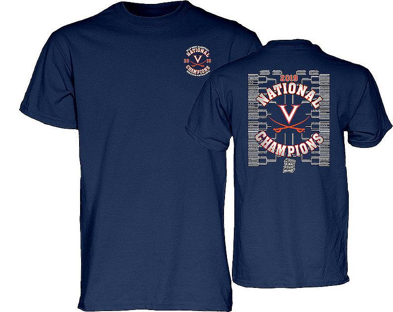 UVA Virginia Cavaliers National Basketball Champions Tshirt 2019 Bracket BEST CASE