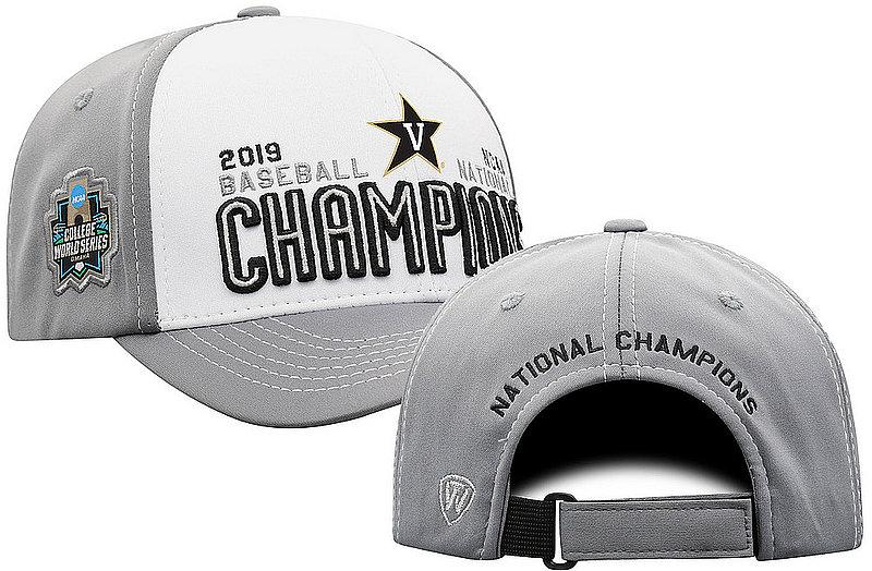 Vanderbilt Commodores Baseball College World Series Champs Hat CWS 2019 Locker Room CWSM-BSBLC-19C-BA