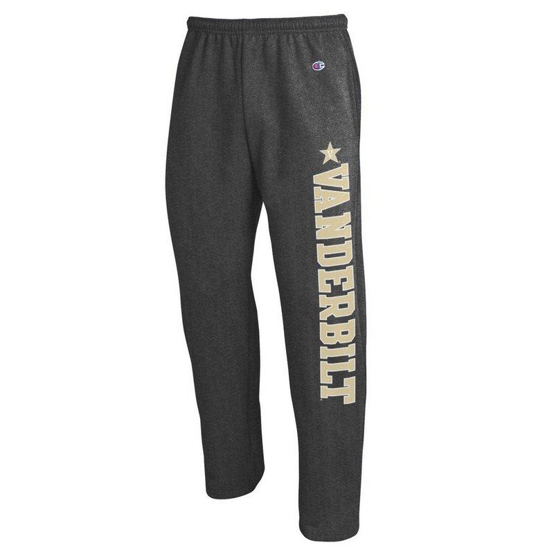 Vanderbilt Commodores Sweatpants Pockets Charcoal APC02886201