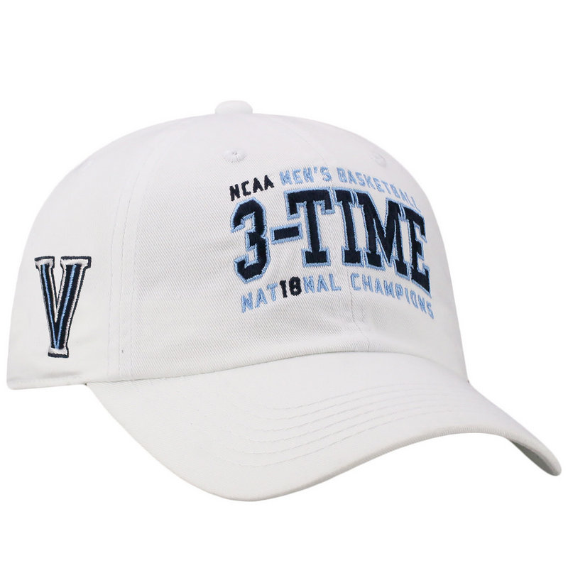 9e6ff9181b5 Villanova Wildcats Championships Hat Basketball 2018 White Ball ...