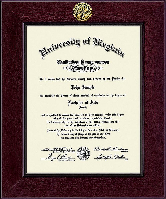 Virginia Cavaliers Diploma Frame 304211
