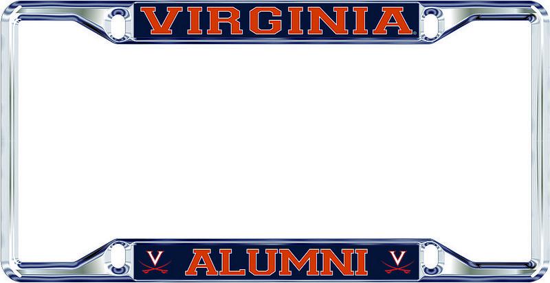 Virginia Cavaliers License Plate Frame Alumni 10681