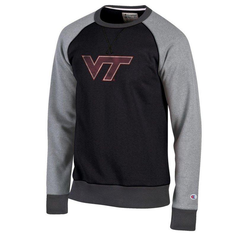 Virginia Tech Hokies Crewneck Sweatshirt Black APC02790225