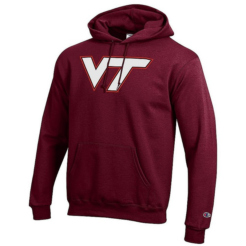 Virginia Tech Hokies Hooded Sweatshirt Maroon Icon APC03004707*