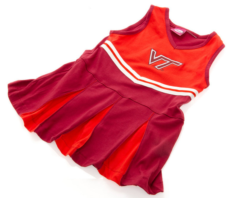 Virginia Tech Hokies Infant Toddler Cheerleader Outfit