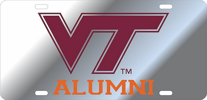 Virginia Tech Hokies License Plate Alumni 34370