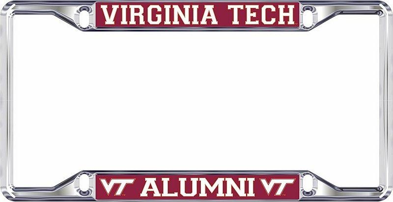 Virginia Tech Hokies License Plate Frame Alumni 34367