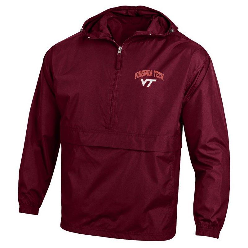 Virginia Tech Hokies Packable Jacket Maroon APC02974081