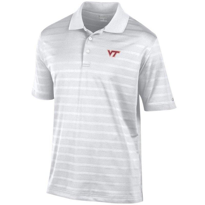 Virginia Tech Hokies Polo Shirt White AEC03267324