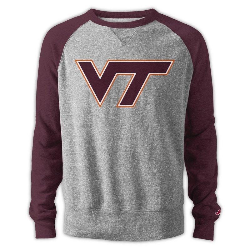 Virginia Tech Hokies TriBlend Crewneck Sweatshirt R11-99507
