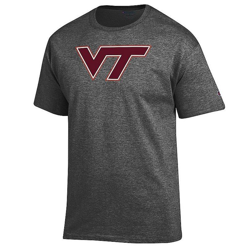 Virginia Tech Hokies TShirt Icon Charcoal APC03004709*