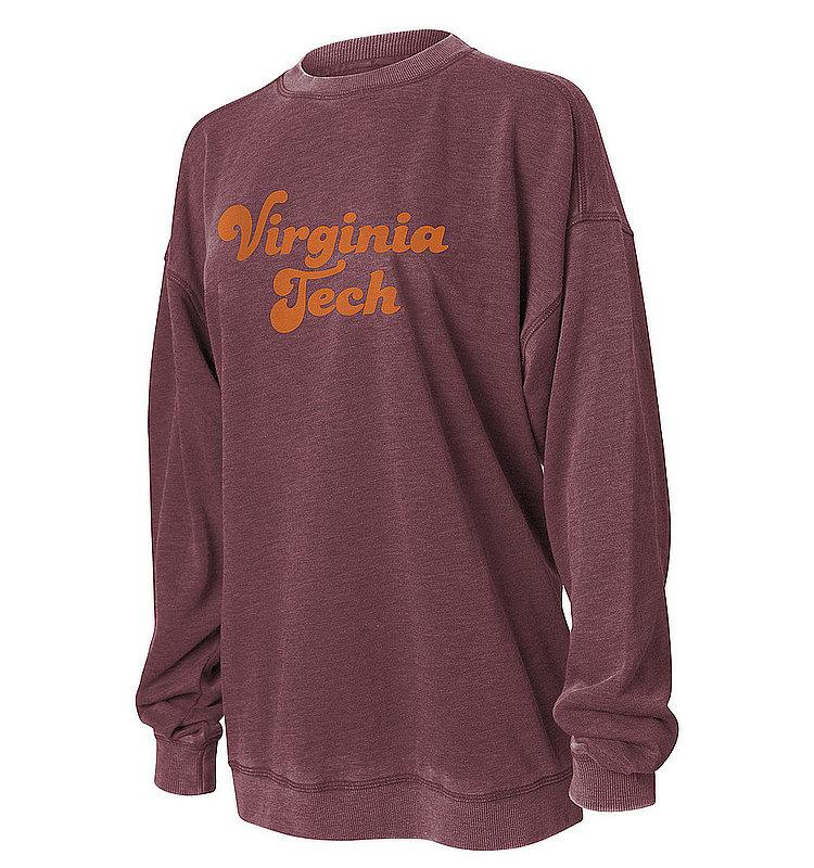 Virginia Tech Hokies Women's Crewneck Sweatshirt 449-41-VT534