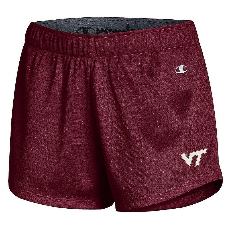 Virginia Tech Hokies Women's Mesh Shorts APC03319621