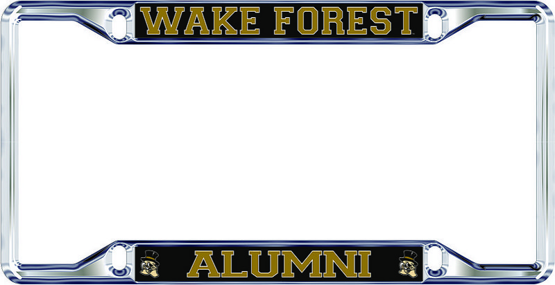 Wake Forest Demon Deacons License Plate Frame Alumni 05686