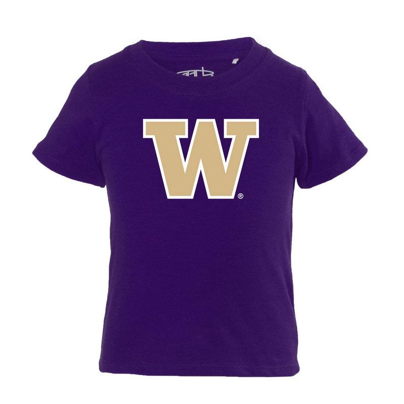 Washington Huskies Infant TShirt Purple TONI-I-PURPLE-WASHINGTON-NWL