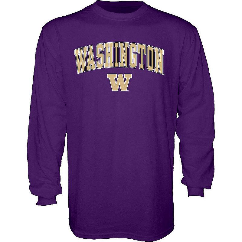 Washington Huskies Long Sleeve Tshirt Varsity Purple APC02879931