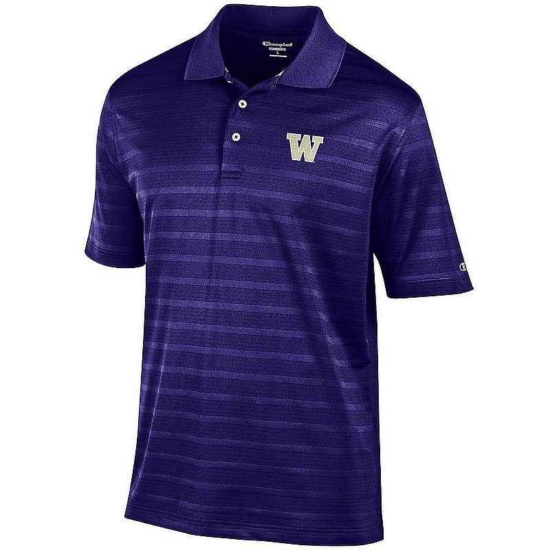 Washington Huskies Polo Purple aec02767849