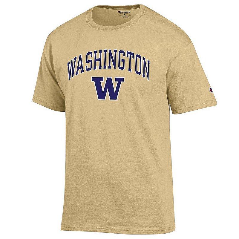 Washington Huskies TShirt Varsity Gold APC03007049