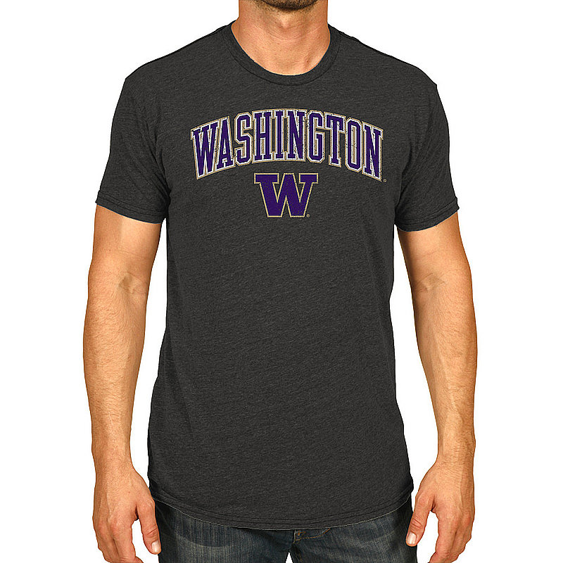 Washington Huskies Vintage Tshirt Victory Charcoal WASV1241B_TV7051M_HBK