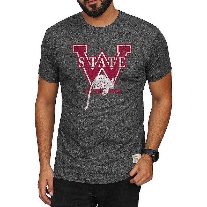 Washington State Cougars Retro Tshirt Charcoal CWSU032A_RB124M_MTCH
