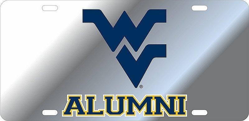 West Virginia Mountaineers License Plate Alumni 09003