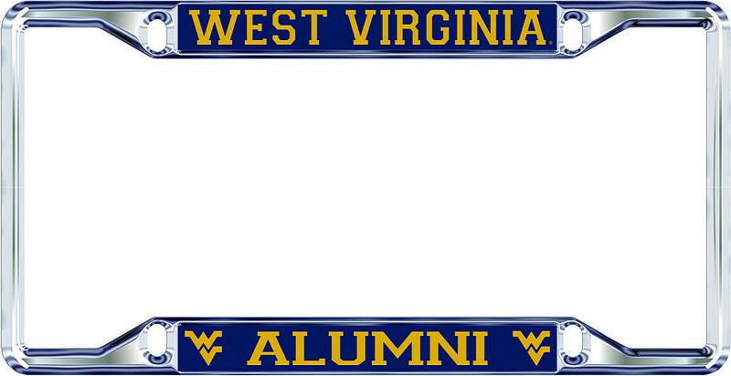 West Virginia Mountaineers License Plate Frame Alumni 09000