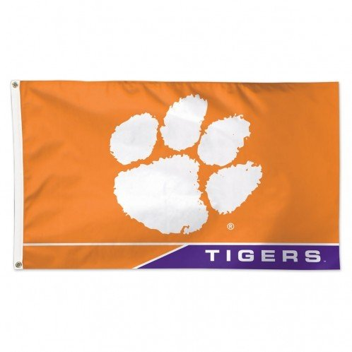 WinCraft Clemson Tigers Flag 3' x 5' 01925115 (WinCraft)