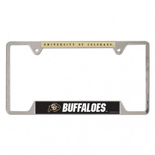 WinCraft Colorado Buffaloes Metal License Plate Frame 21612010 (WinCraft)