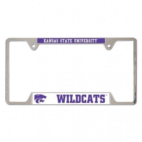 WinCraft Kansas State Wildcats Metal License Plate Frame 21566010 (WinCraft)